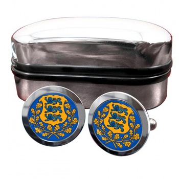 Estonia Eesti Crest Cufflinks