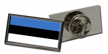 Estonia Eesti Flag Pin Badge