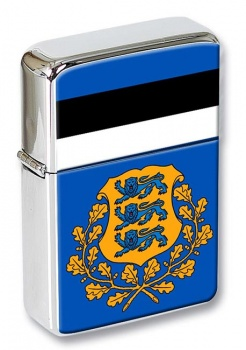 Estonia Eesti Flip Top Lighter