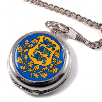 Estonia Eesti Pocket Watch
