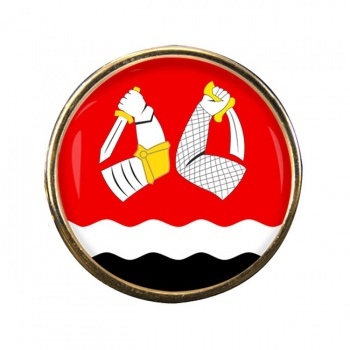 South Karelia (Etela-Karjala) Round Pin Badge