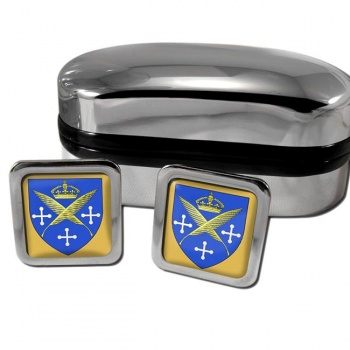 Saint-Etienne France Square Cufflinks