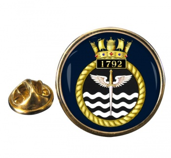 1792 Naval Air Squadron  Round Pin Badge
