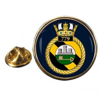 779 Naval Air Squadron  Round Pin Badge