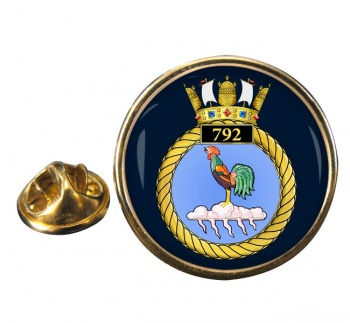 790 Naval Air Squadron Round Pin Badge