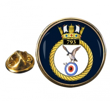 793 Naval Air Squadron Round Pin Badge