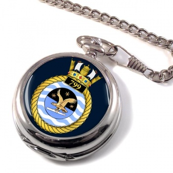 799 Naval Air Squadron Pocket Watch
