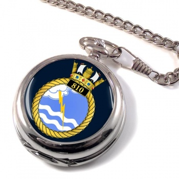 810 Naval Air Squadron Pocket Watch