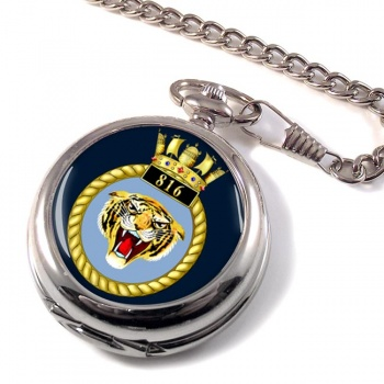 816 Naval Air Squadron  Pocket Watch