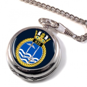 835 Naval Air Squadron Pocket Watch