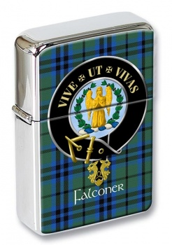 Falconer Scottish Clan Flip Top Lighter