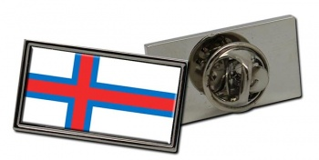 Faroe Islands  Flag Pin Badge