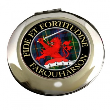 Farquharson Scottish Clan Chrome Mirror