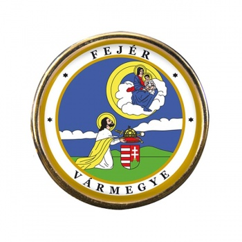 Fejer Round Pin Badge