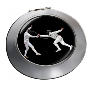 Fencing Chrome Mirror