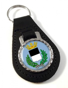 Ferrara (Italy) Leather Key Fob