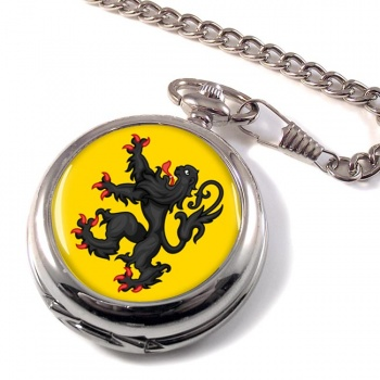 Vlaanderen Flandre (Belgium) Pocket Watch