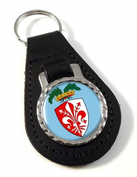 Florence Firenze (Italy) Leather Key Fob