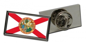 Florida  Flag Pin Badge