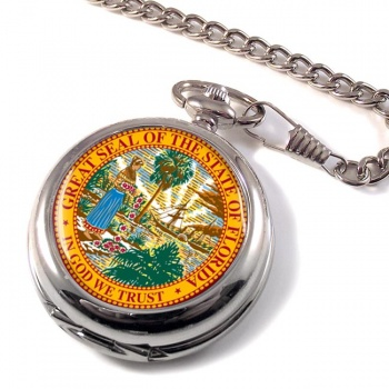Florida USA Pocket Watch