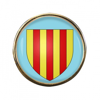 Foix (France) Round Pin Badge