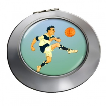 Football Chrome Mirror