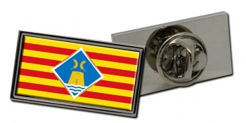 Formentera (Spain) Flag Pin Badge