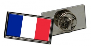 France (Flag Pin Badge) Flag Pin Badge