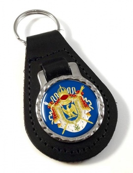 Grandes Armes Imperiales (France) Leather Key Fob