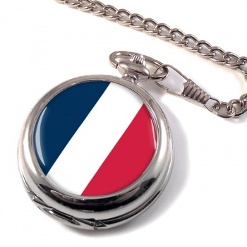 France (Flag) Pocket Watch