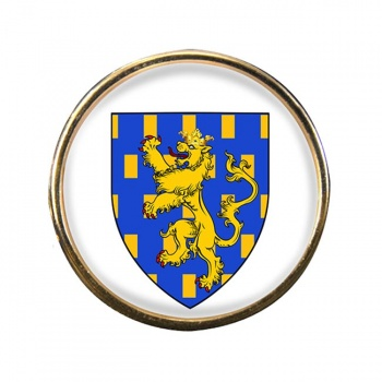 Franche-Comte (France) Round Pin Badge
