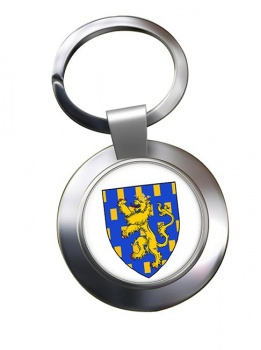 Franche-Comte (France) Metal Key Ring