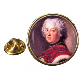 Frederick the Great Round Pin Badge
