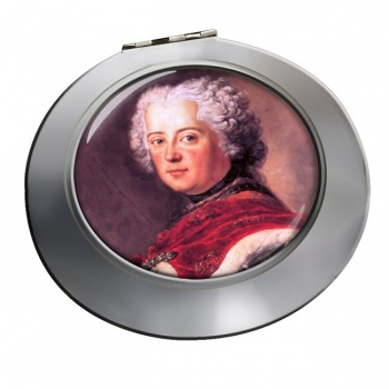 Frederick the Great Chrome Mirror