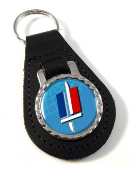 Armee de Terre  (France) Leather Key Fob
