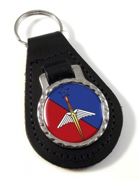 Brigade des forces speciales terre (BFST). Leather Key Fob