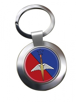 Brigade des forces speciales terre (BFST). Chrome Key Ring