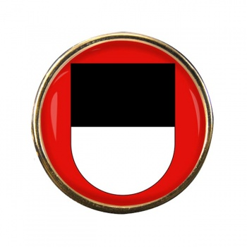 Fribourg (Switzerland) Round Pin Badge