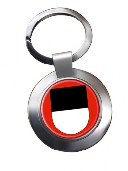 Fribourg (Switzerland) Metal Key Ring