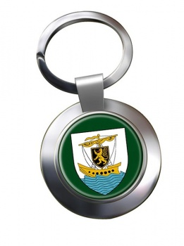 Galway City (Ireland) Metal Key Ring