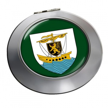 Galway City (Ireland) Round Mirror