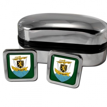 Galway City Ireland Square Cufflinks