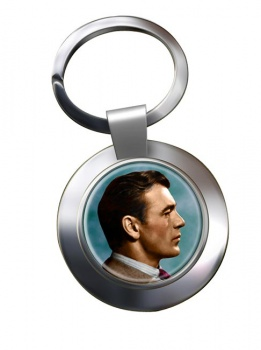 Gary Cooper Chrome Key Ring