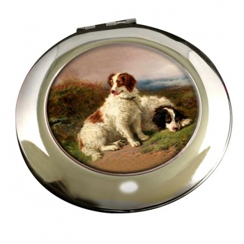 Two Spaniels by Henry Garland Mirror