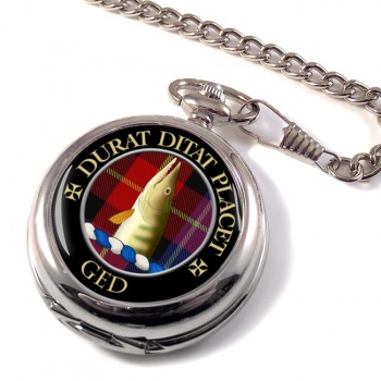Ged Scottish Clan Pocket Watch