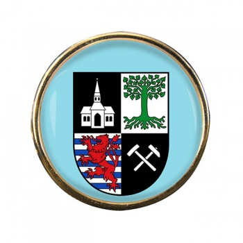 Gelsenkirchen (Germany) Round Pin Badge