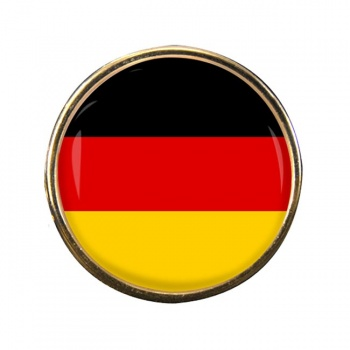 Deutschland Germany Round Pin Badge