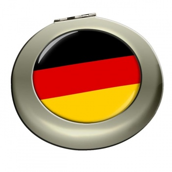 Deutschland Germany Round Mirror
