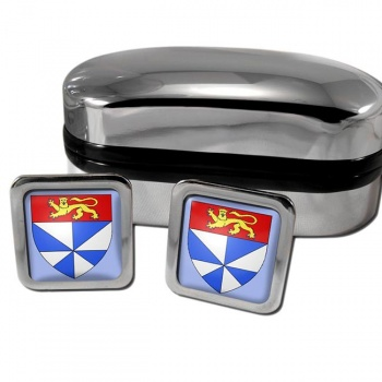 Gironde France Square Cufflinks