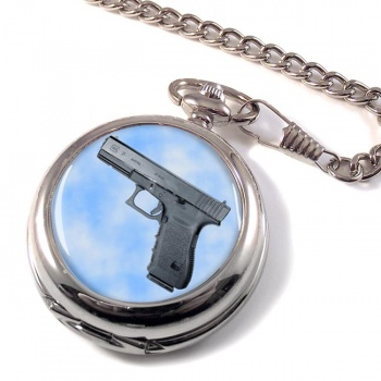 Glock 21 Pistol Pocket Watch